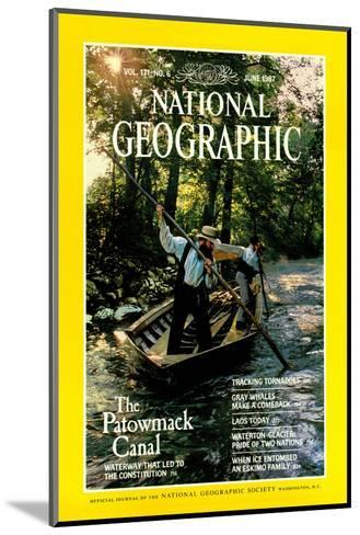 Cover of the June, 1987 National Geographic Magazine-Kenneth Garrett-Mounted Photographic Print