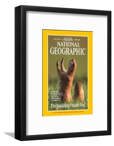 Cover of the April, 1998 National Geographic Magazine-Raymond Gehman-Framed Art Print