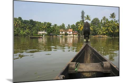 A View of the Backwaters from a Handcrafted Canoe-Kelley Miller-Mounted Photographic Print