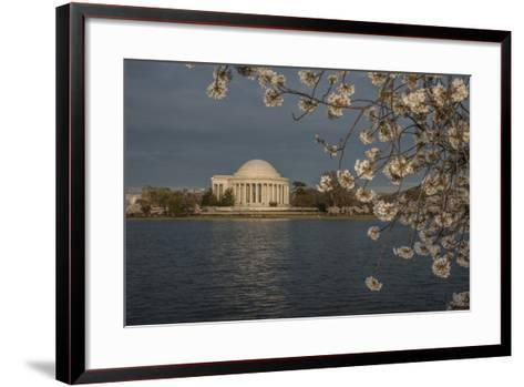 The Jefferson Memorial on the Edge of the Tidal Basin-Cristina Mittermeier-Framed Art Print
