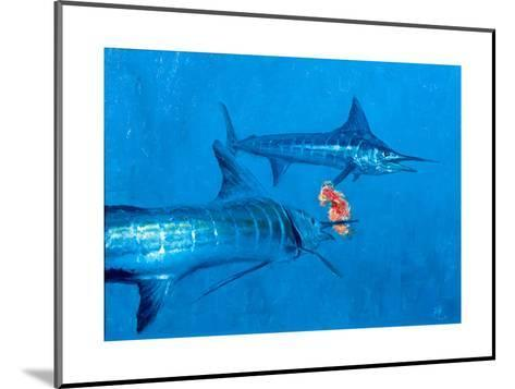 Two Striped Marlin and Iris Nudibranch-Stanley Meltzoff-Mounted Giclee Print