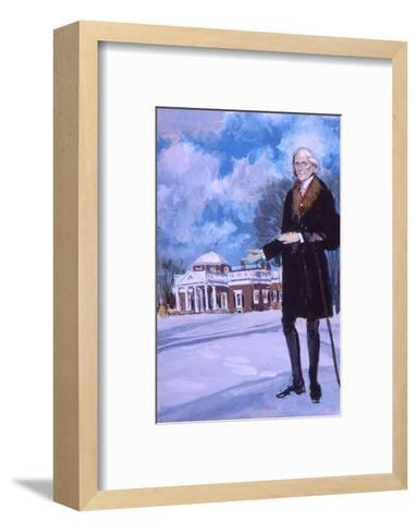 Thomas Jefferson, the Man from Monticello-Stanley Meltzoff-Framed Art Print
