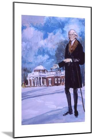 Thomas Jefferson, the Man from Monticello-Stanley Meltzoff-Mounted Giclee Print