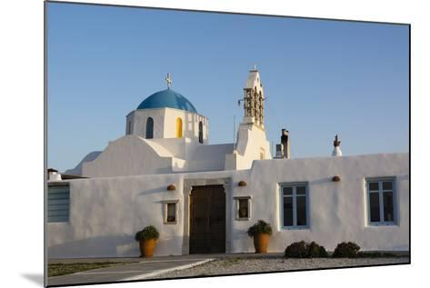 A Scenic View of a Private Church in Naousa-Sergio Pitamitz-Mounted Photographic Print