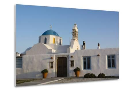 A Scenic View of a Private Church in Naousa-Sergio Pitamitz-Metal Print