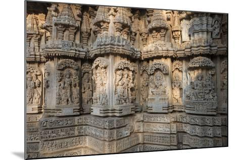 Keshava Temple Houses Friezes of Animals and Humans, and Sculptures of Hindu Gods-Kelley Miller-Mounted Photographic Print