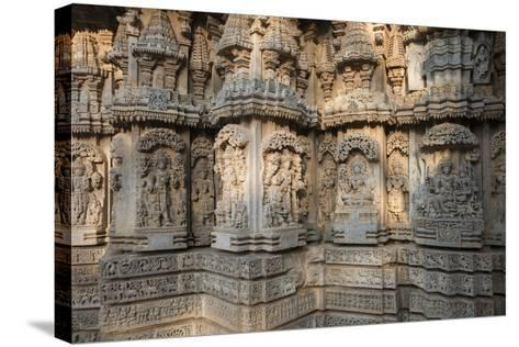 Keshava Temple Houses Friezes of Animals and Humans, and Sculptures of Hindu Gods-Kelley Miller-Stretched Canvas Print