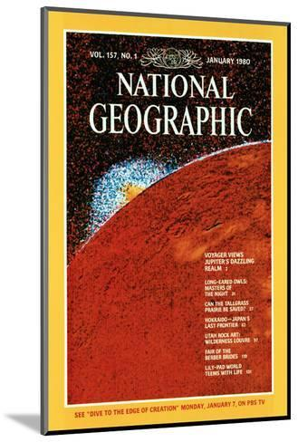 Cover of the January, 1980 National Geographic Magazine--Mounted Photographic Print