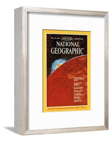 Cover of the January, 1980 National Geographic Magazine--Framed Art Print