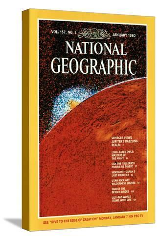 Cover of the January, 1980 National Geographic Magazine--Stretched Canvas Print