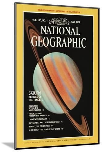 Cover of the July, 1981 National Geographic Magazine--Mounted Photographic Print