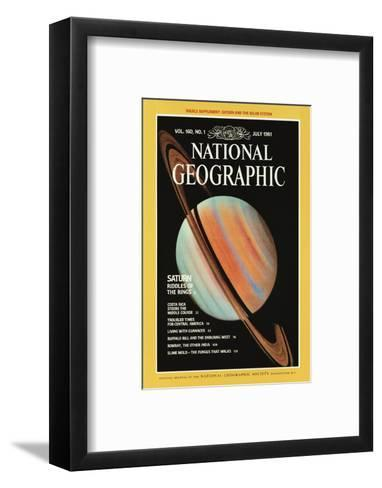 Cover of the July, 1981 National Geographic Magazine--Framed Art Print