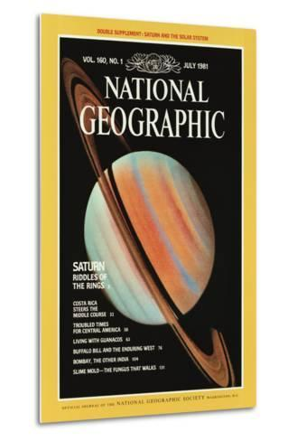 Cover of the July, 1981 National Geographic Magazine--Metal Print