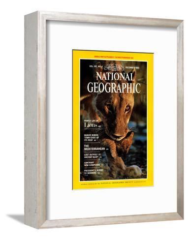 Cover of the December, 1982 National Geographic Magazine-Des & Jen Bartlett-Framed Art Print