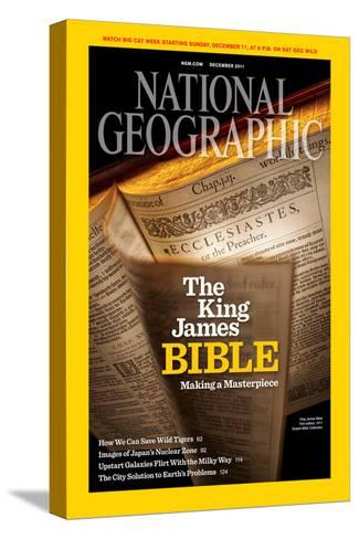 Cover of the December, 2011 National Geographic Magazine-Jim Richardson-Stretched Canvas Print