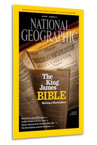 Cover of the December, 2011 National Geographic Magazine-Jim Richardson-Metal Print