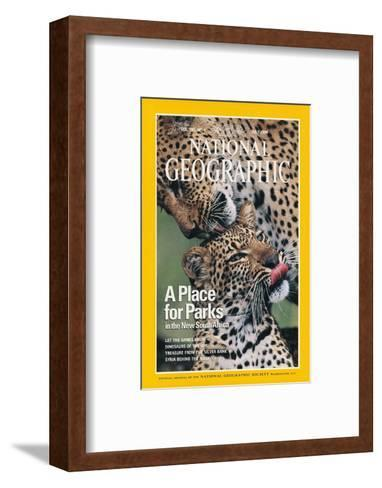 Cover of the July, 1976 National Geographic Magazine-Chris Johns-Framed Art Print