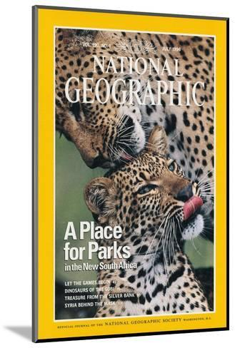 Cover of the July, 1976 National Geographic Magazine-Chris Johns-Mounted Photographic Print