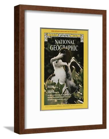 Cover of the May, 1977 National Geographic Magazine-Bianca Lavies-Framed Art Print