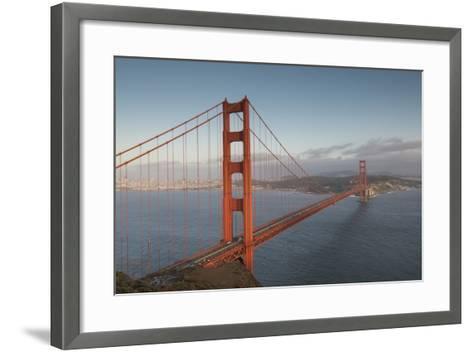 The Golden Gate Bridge in San Francisco, California-Jeff Mauritzen-Framed Art Print