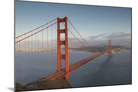 The Golden Gate Bridge in San Francisco, California-Jeff Mauritzen-Mounted Photographic Print