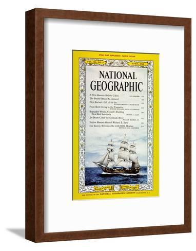 Cover of the April, 1962 National Geographic Magazine-Luis Marden-Framed Art Print