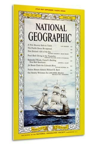 Cover of the April, 1962 National Geographic Magazine-Luis Marden-Metal Print