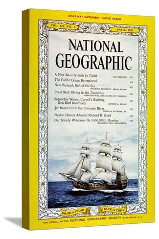 Cover of the April, 1962 National Geographic Magazine-Luis Marden-Stretched Canvas Print