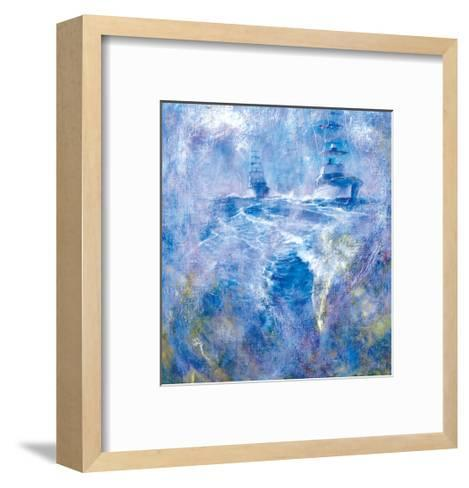 Boat Charge in Morning Steam, Lake Worth Inlet, 1978-Stanley Meltzoff-Framed Art Print