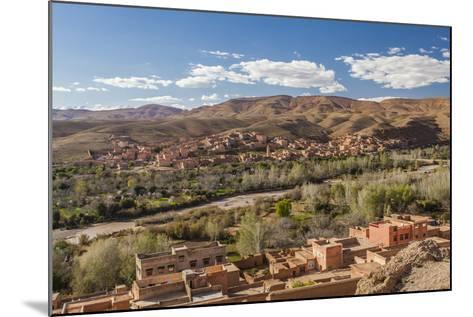 Tinghir, an Oasis in the Wadi Todgha in the South-Eastern Foothills of the Atlas Mountains-Richard Nowitz-Mounted Photographic Print