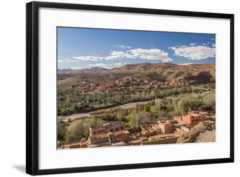 Tinghir, an Oasis in the Wadi Todgha in the South-Eastern Foothills of the Atlas Mountains-Richard Nowitz-Framed Art Print