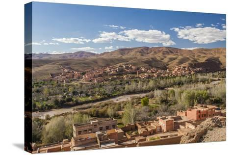 Tinghir, an Oasis in the Wadi Todgha in the South-Eastern Foothills of the Atlas Mountains-Richard Nowitz-Stretched Canvas Print