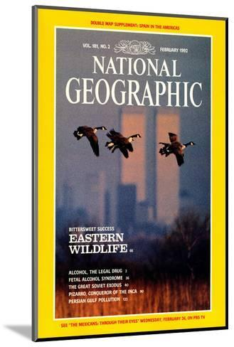 Cover of the February, 1992 National Geographic Magazine-Raymond Gehman-Mounted Photographic Print