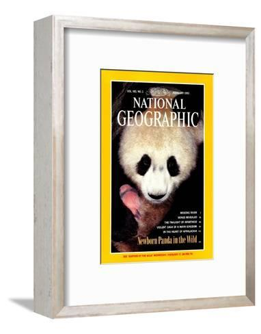 Cover of the February, 1993 National Geographic Magazine-Lu Zhi-Framed Art Print