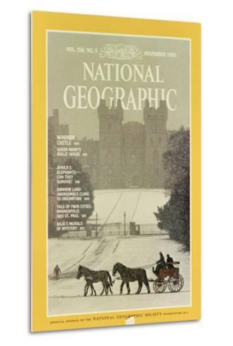 Cover of the November, 1980 National Geographic Magazine-James L^ Stanfield-Metal Print