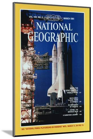 Cover of the March, 1981 National Geographic Magazine-Jon T^ Schneeberger-Mounted Photographic Print