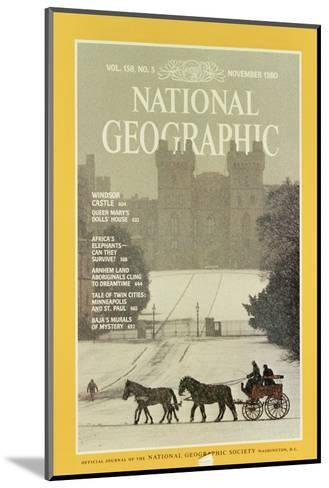 Cover of the November, 1980 National Geographic Magazine-James L^ Stanfield-Mounted Photographic Print