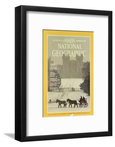 Cover of the November, 1980 National Geographic Magazine-James L^ Stanfield-Framed Art Print