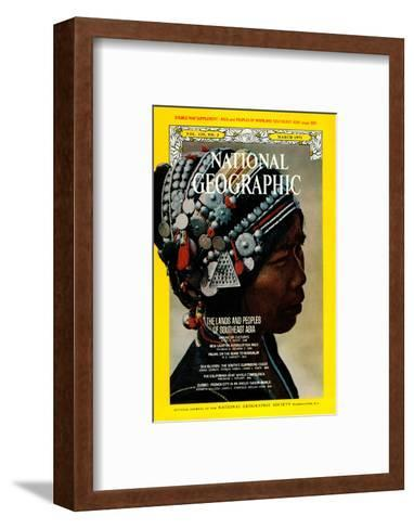 Cover of the March, 1971 National Geographic Magazine-W^E^ Garrett-Framed Art Print
