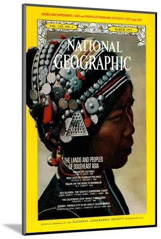 Cover of the March, 1971 National Geographic Magazine-W^E^ Garrett-Mounted Photographic Print