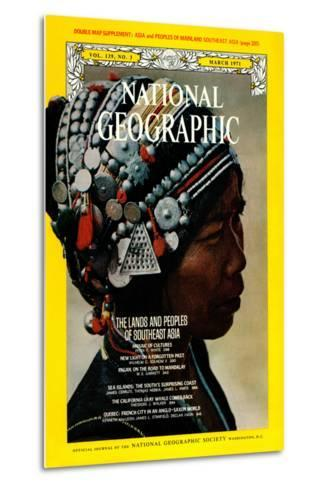 Cover of the March, 1971 National Geographic Magazine-W^E^ Garrett-Metal Print