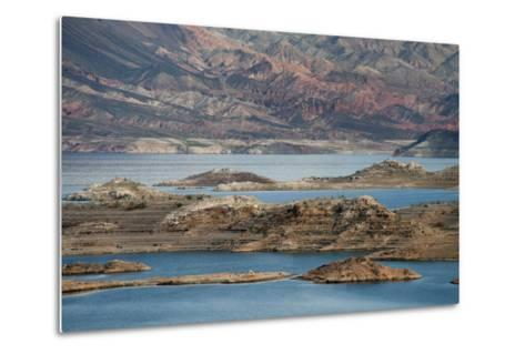 View of the Lake's Western End in Lake Mead National Recreation Area, Nevada-Scott S^ Warren-Metal Print