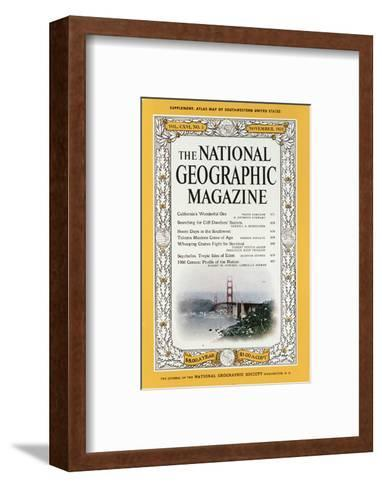 Cover of the December, 1959 National Geographic Magazine-B^ Anthony Stewart-Framed Art Print