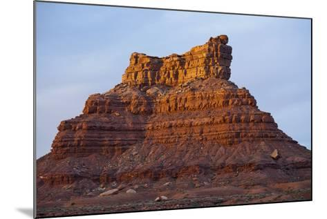 One of Several Large Monuments in the Valley of the Gods in Southeastern Utah-Scott S^ Warren-Mounted Photographic Print