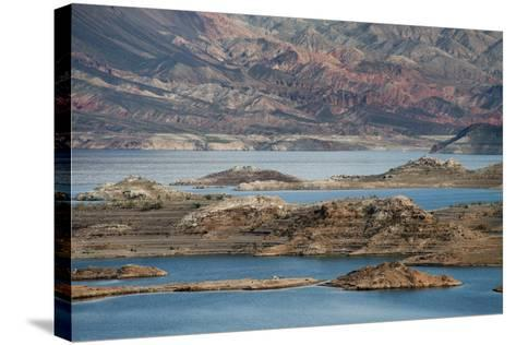 View of the Lake's Western End in Lake Mead National Recreation Area, Nevada-Scott S^ Warren-Stretched Canvas Print