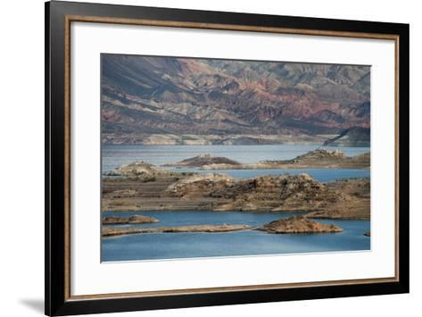 View of the Lake's Western End in Lake Mead National Recreation Area, Nevada-Scott S^ Warren-Framed Art Print
