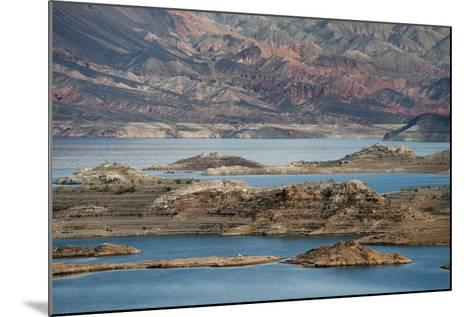View of the Lake's Western End in Lake Mead National Recreation Area, Nevada-Scott S^ Warren-Mounted Photographic Print