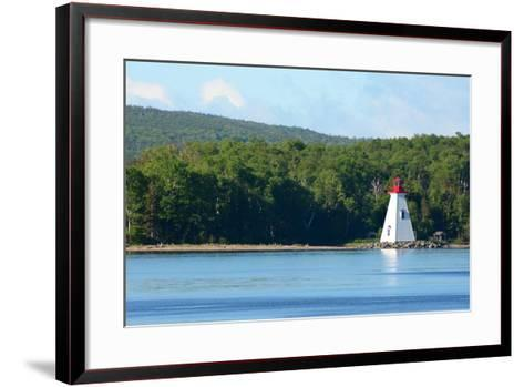 Scenic View of the Kidston Island Lighthouse-Darlyne A^ Murawski-Framed Art Print