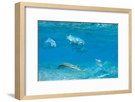 Six Permit, Jack and Ray, 1992-Stanley Meltzoff-Framed Art Print