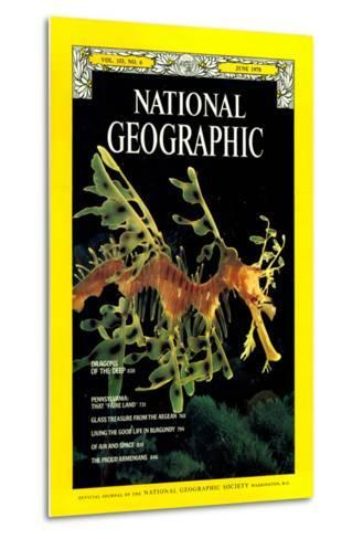 Cover of the June, 1978 National Geographic Magazine-Paul Zahl-Metal Print